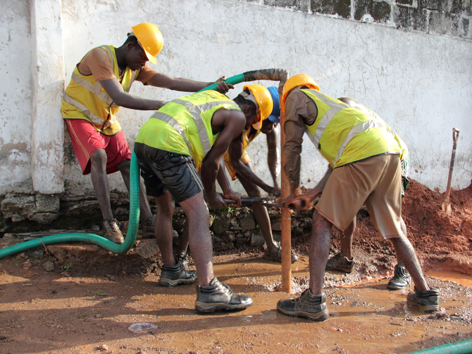 Manual Drilling - Rural Water Supply Network